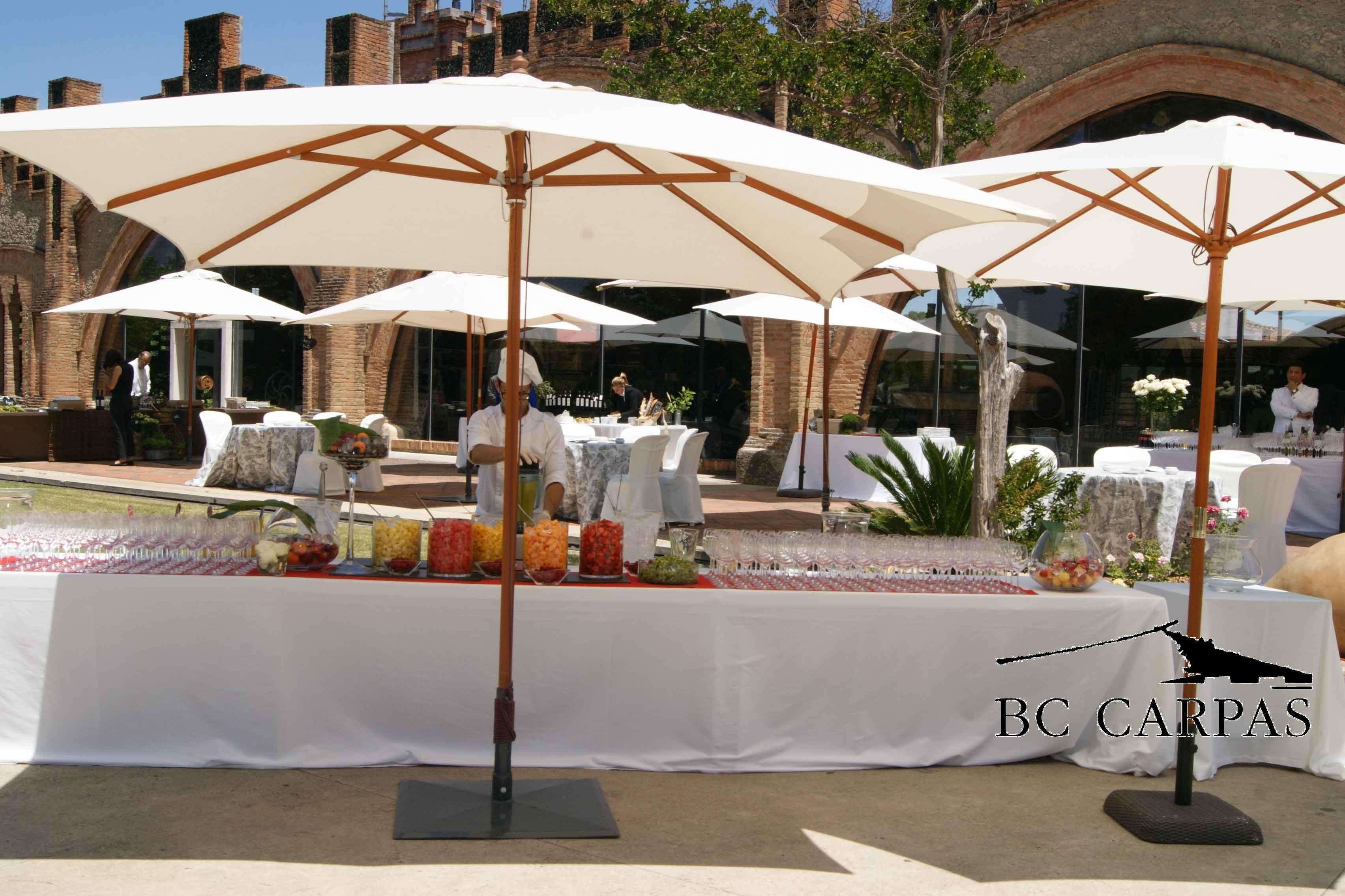 Parasoles y sombrillas para la primavera bc carpas for Casa jardin buffet