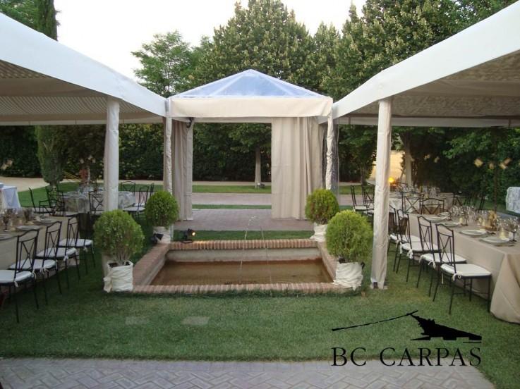 Bc carpas crudas velas 6 - Carpas para patios ...