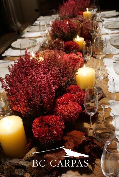 Ideas para una celebraci n de oto o bc carpas for Carpa comida