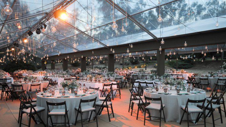 Carpa transparente para bodas y celebraciones