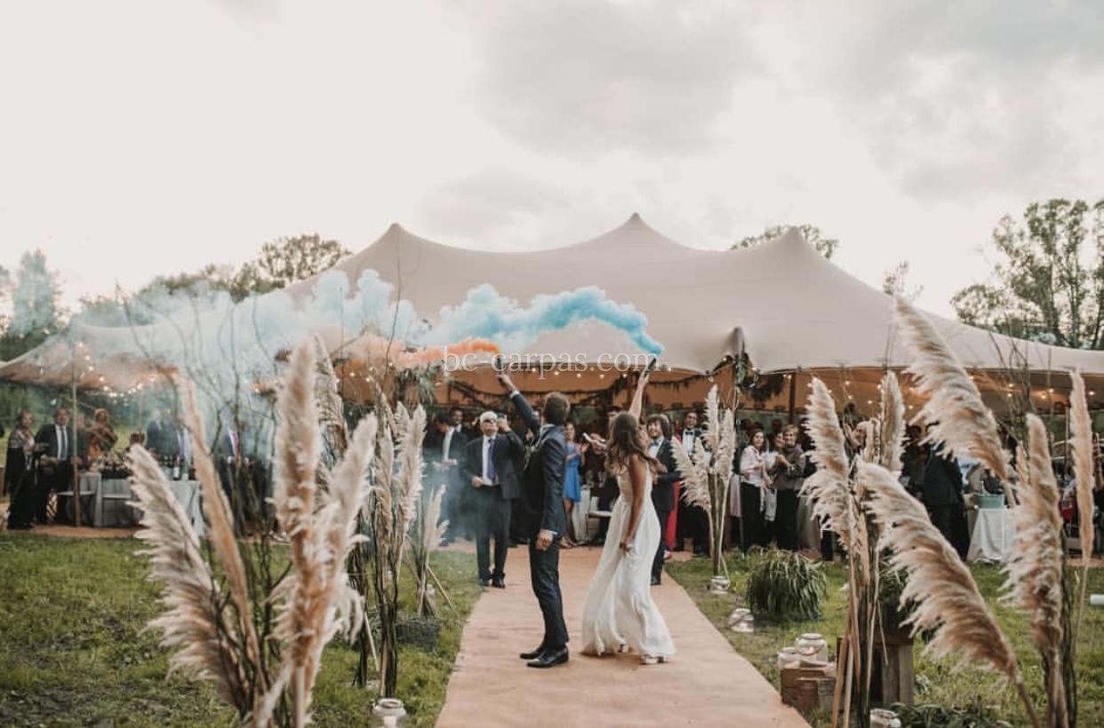 Una boda en la montaña.